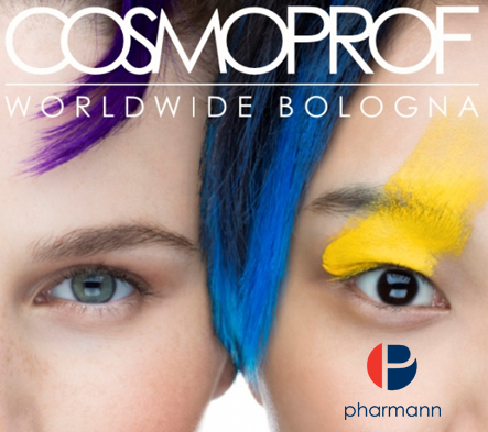 Cosmoprof Worldwide Bologna 2-18 - Pharmann