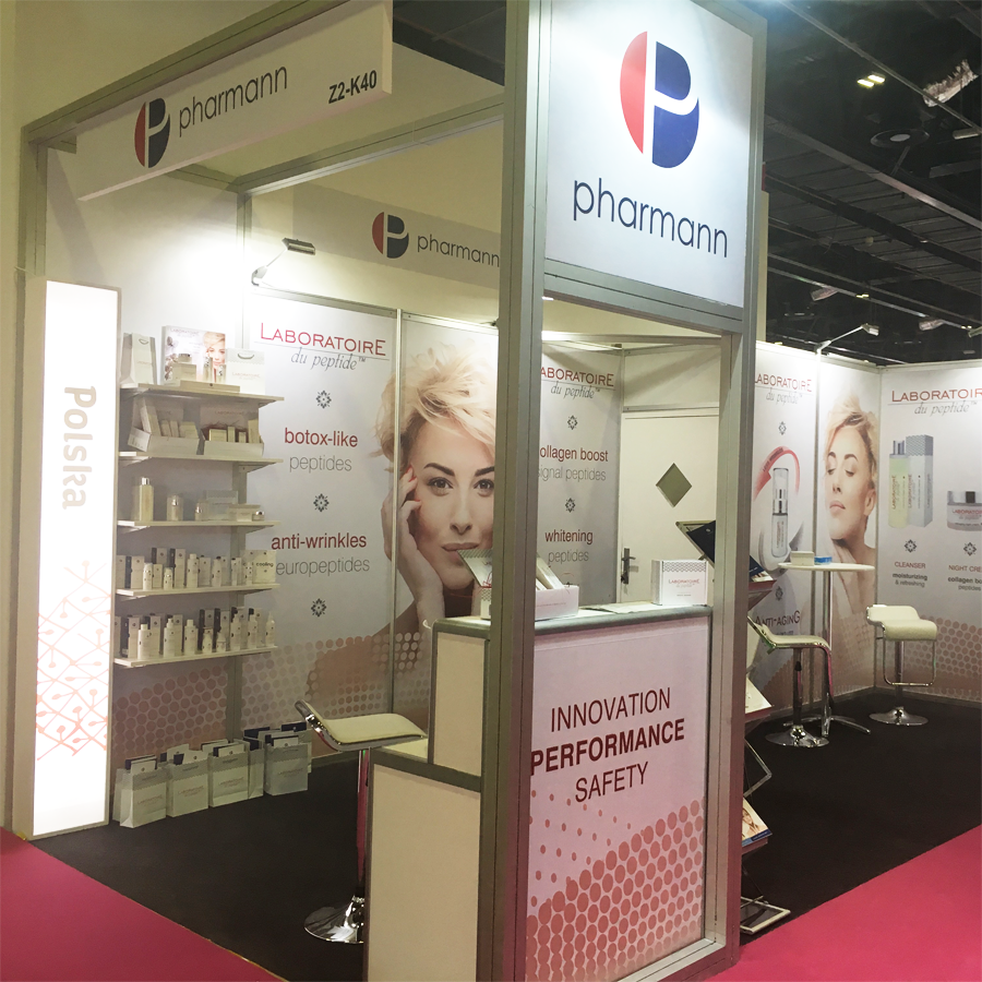 Beautyworld Middle East 2018 - Pharmann